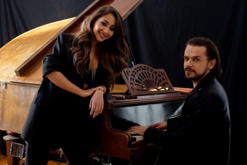Nicole Cherry alături de Bogdan Medvedi