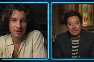 Shawn Mendes în emisiunea lui Jimmy Fallon
