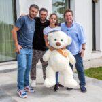 """Smiley și Pavel Bartoș alături de Roberta, în cadrul emisiunii """"Visuri la Cheie"""""""
