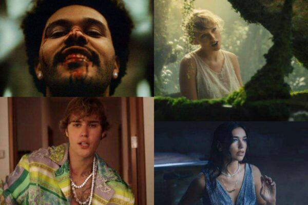 The Weeknd/Taylor Swift/Justin Bieber/Dua Lipa