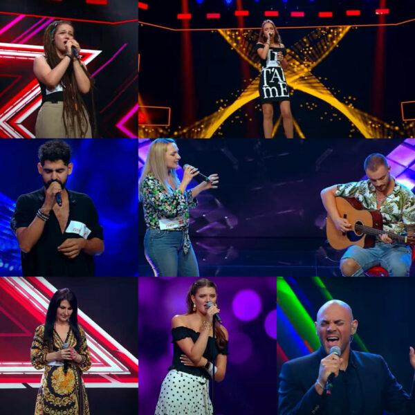 Concurenții care au trecut de cel de-al zecelea episod X Factor 2020