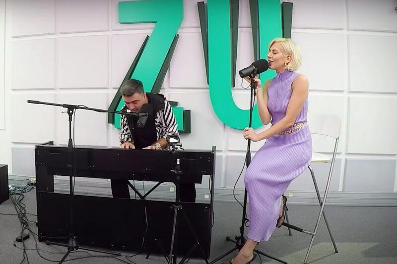 Cornel Ilie și Lidia Buble la Radio Zu