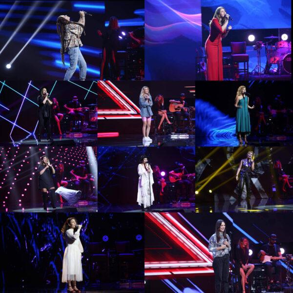 Echipa Ștefan Bănică în bootcamp-ul de la X Factor 2020