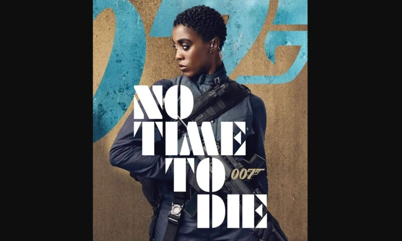 Poster James Bond No Time to Die Lashana Lynch