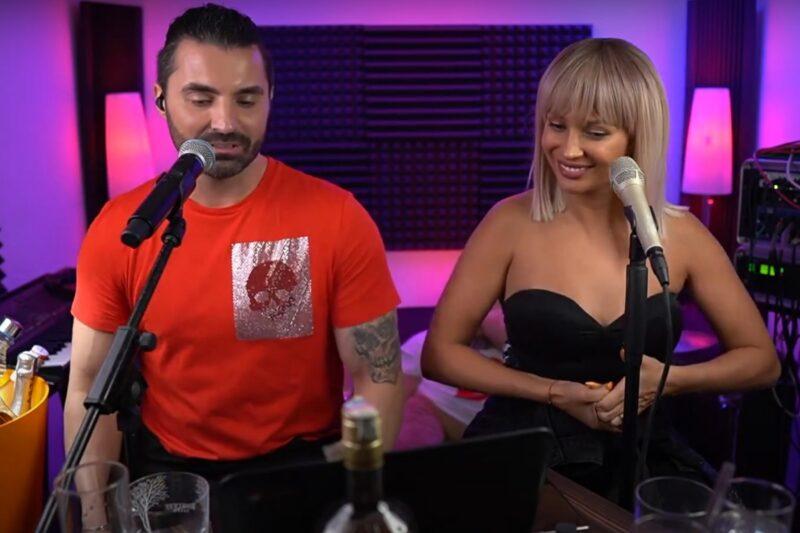 Pepe și LORA în timpul concertului online