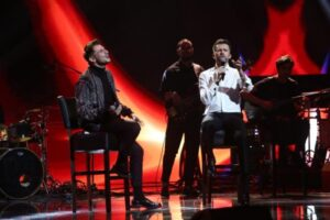 Adrian Petrache și Florin Ristei în finala X Factor 2020