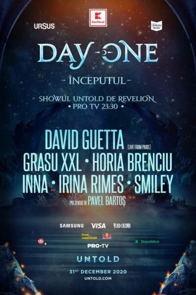 Poster eveniment UNTOLD - DAY ONE ÎNCEPUTUL