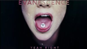 Coperta single Evanescence Yeah Right