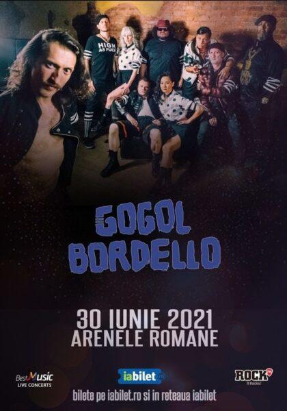 Poster eveniment Gogol Bordello