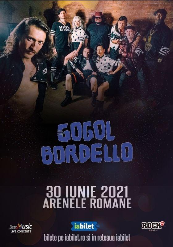 Gogol Bordello la Arenele Romane