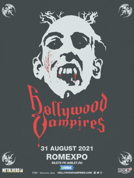 Poster eveniment Hollywood Vampires
