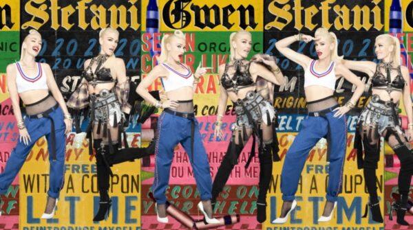 Lyric Video Gwen Stefani Let Me Reintroduce Myself