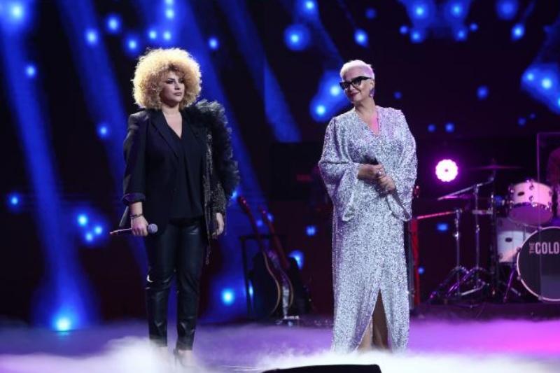 Monica Anghel și Sonia Mosca în finala X Factor 2020