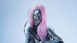 Personaj Grimes Cyberpunk 2077 Lizzy Wizzy
