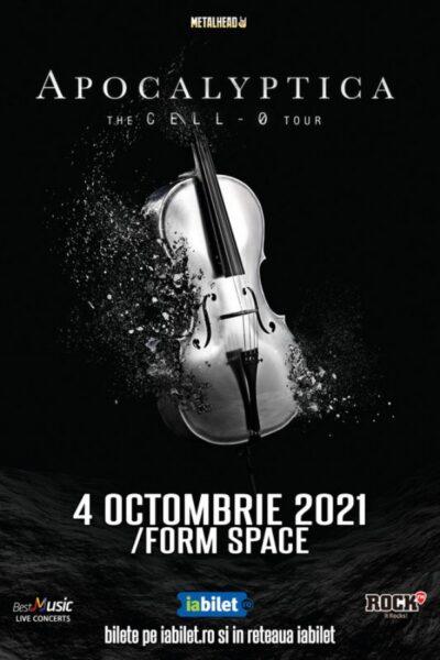 Poster eveniment Apocalyptica