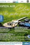 Open Air Blues in the garden festival