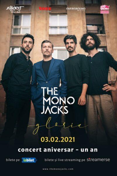 Poster eveniment The Mono Jacks - concert online aniversar