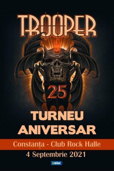 Poster eveniment Trooper - Turneu aniversar