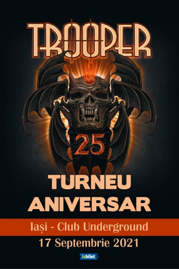 Trooper - Turneu aniversar la Underground Pub