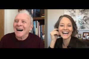 "Anthony Hopkins și Jodie Foster în cadrul seriei ""Actors on Actors"""