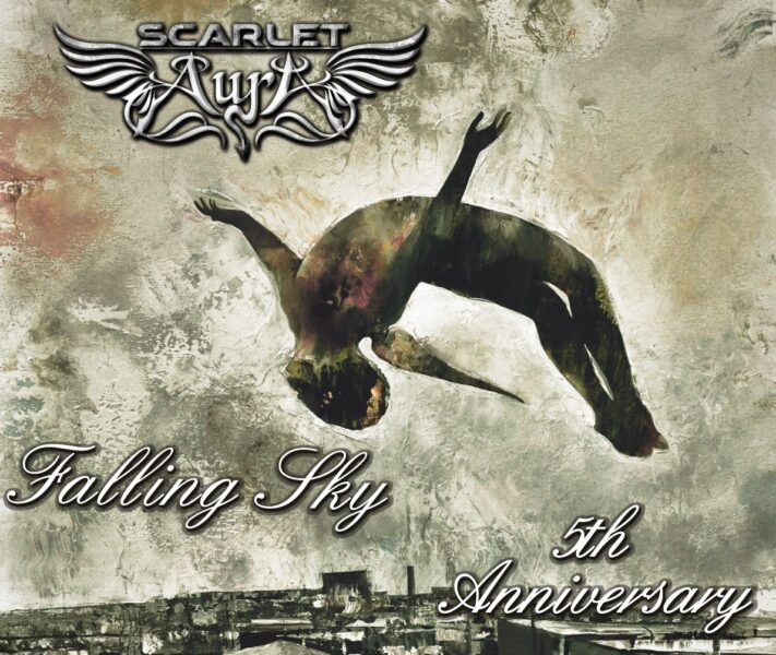 Coperta Scarlet Aura Falling sky 5th Anniversary