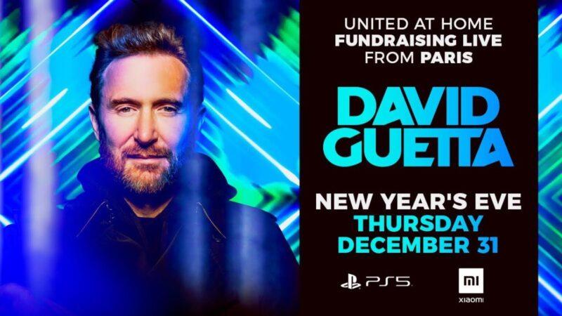 David Guetta United at Home Poster 2021