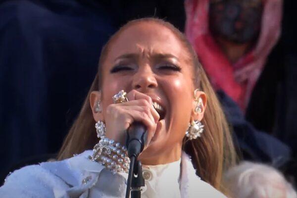 Jennifer Lopez la învestirea lui Joe Biden