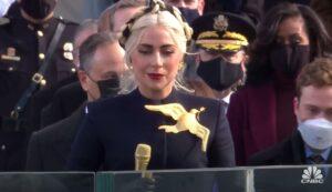 Lady Gaga canta imnul SUA investire Joe Biden 2021