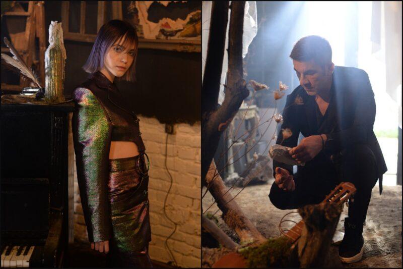 Roxen și DJ Maxx la filmările videoclipului