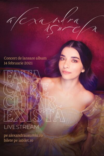 Poster eveniment Alexandra Ușurelu - Concert de lansare album