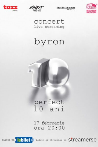Poster eveniment byron - concert live streaming