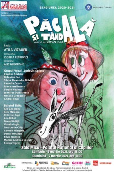 Poster eveniment Păcală și Tândală