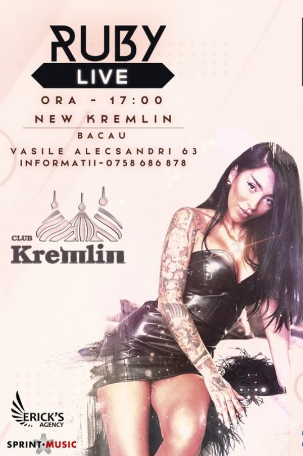 Ruby Live! la Club Kremlin (Bacău)