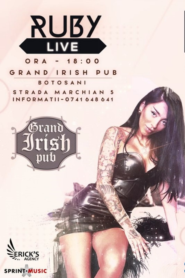 Ruby Live! la Grand Irish Pub