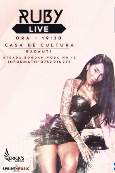 Poster eveniment Ruby Live!