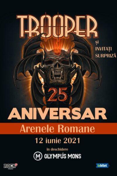 Poster eveniment Trooper 25 de Ani - Concert Aniversar