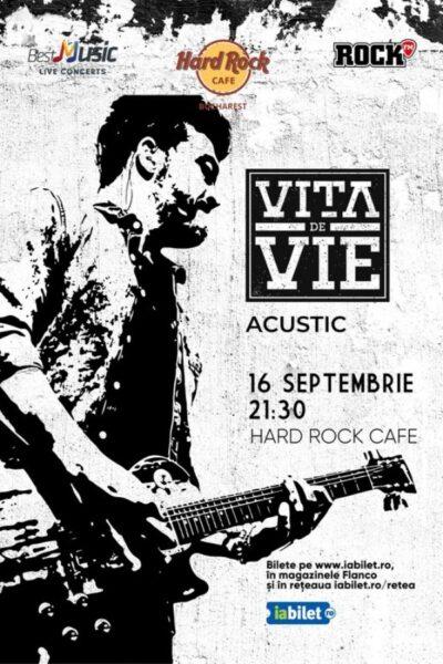 Poster eveniment Vița de Vie Acustic