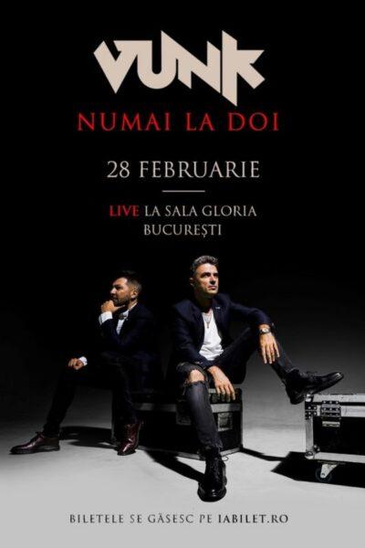 Poster eveniment VUNK - Numai la doi - Acustic - Cornel Ilie & Gabi Maga
