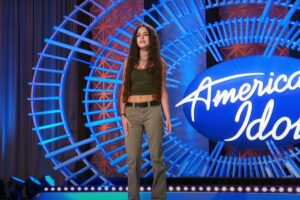 Casey Bishop la American Idol,2021