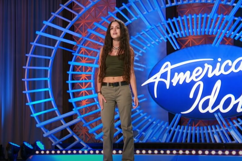 Casey Bishop la American Idol,2021