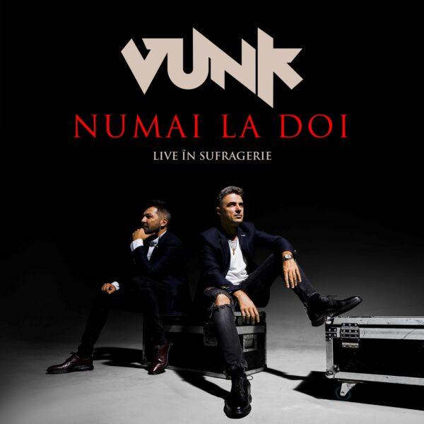 """Copertă album VUNK """"Numai la doi"""""""