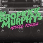 Coperta single Dropkick Murphys Middle Finger