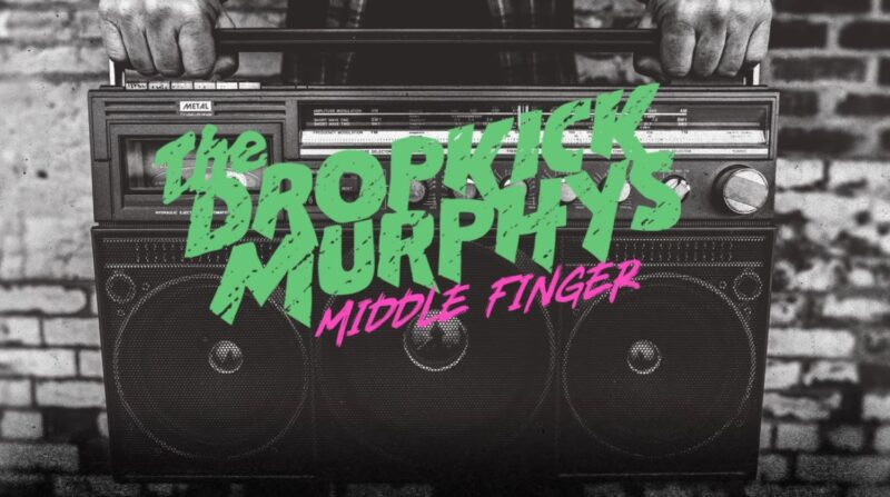 Coperta single Dropkick Murphys Middle Finger