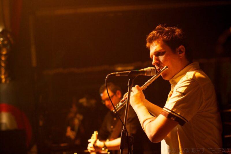 """Dan Byron în Silver Church, la concertul de lansare a albumului """"Perfect"""", 17 februarie 2011"""