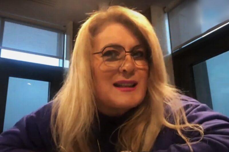 Liana Stanciu într-un interviu pentru TVR