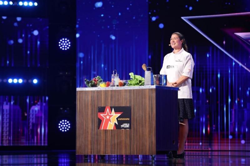 """Marlena Botezatu în cea de-a doua ediție """"Românii au talent"""" 2021"""