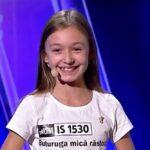 "Sara Smighelschi în prima ediție ""Românii au talent"" 2021"