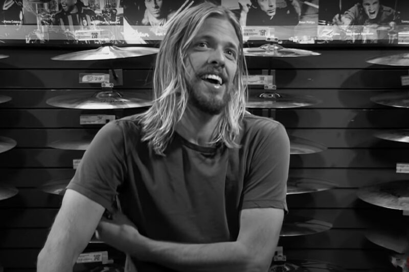 Taylor Hawkins, toboșar Foo Fighters