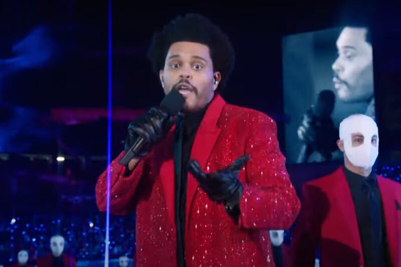 The Weeknd @Super Bowl 2021