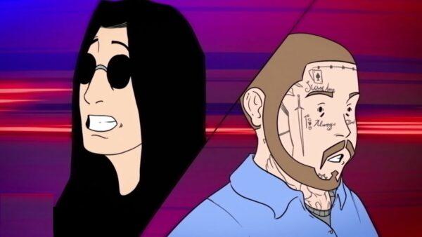 Videoclip Ozzy Osbourne Post Malone It's a Raid